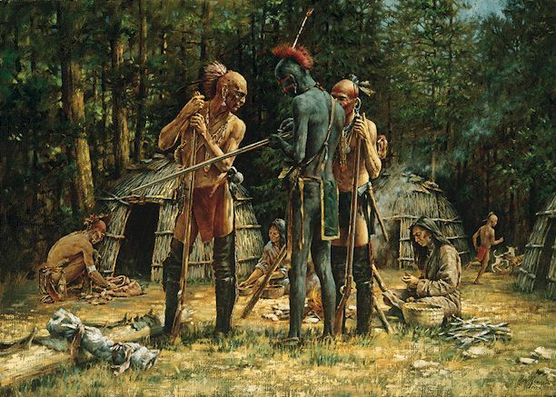 seneca indians allies and enemies