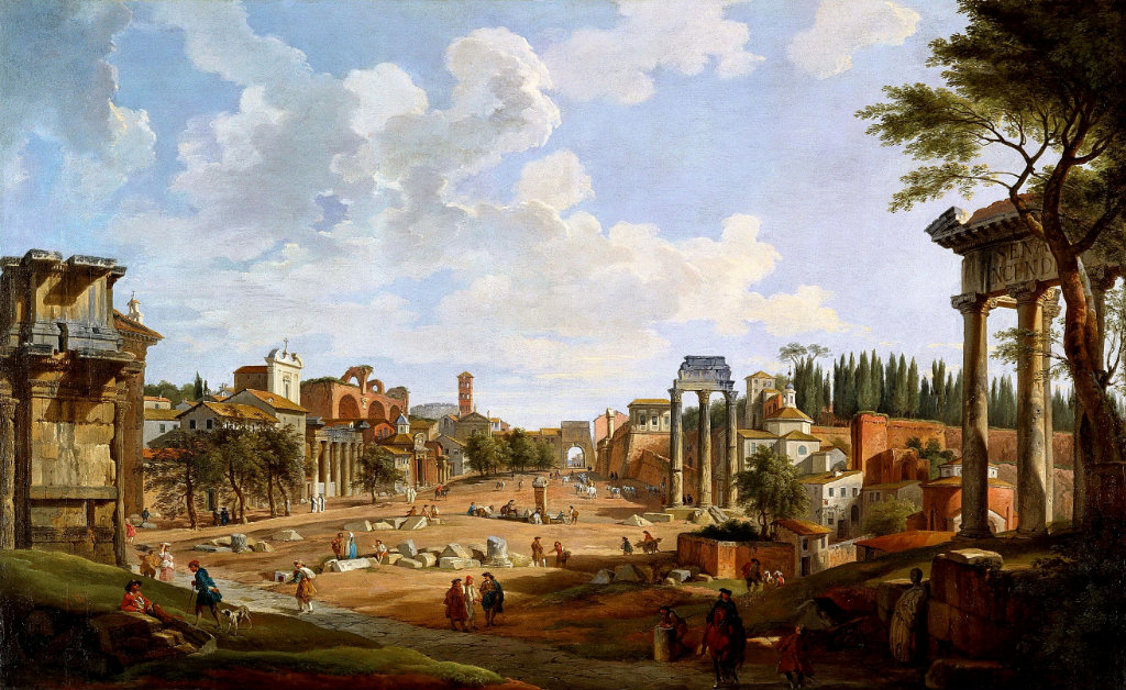 giovanni panini Giovanni paolo panini (1727) english heritage - the wellington collection at apsley house painting - oil on canvas uploaded saturday, 23 february 2013 by member irene public domain figures amongst the ruins.