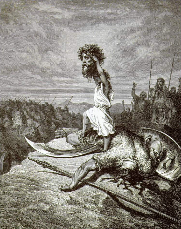 comparison between goliath beowulf