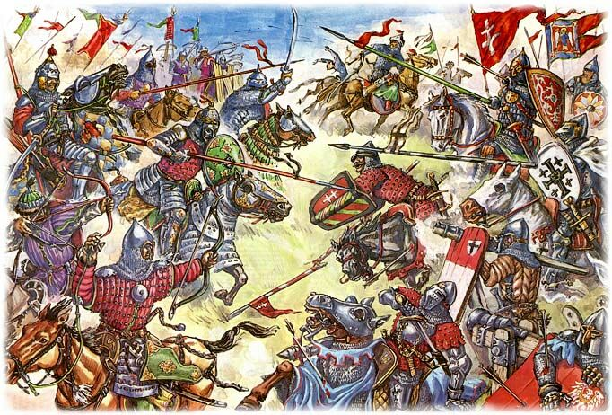 Battle of the Vorskla River (1399 - Crusade against Tatars)