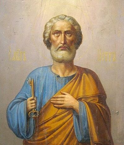 apostle peter Apostle peter it is said that the apostle peter was a slender person of a middle size inclining to tallness and that his complexion was pale, almost white.